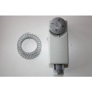 Thermostat Anlegethermostat Thermostatregler einstellbar Außen Verstellung