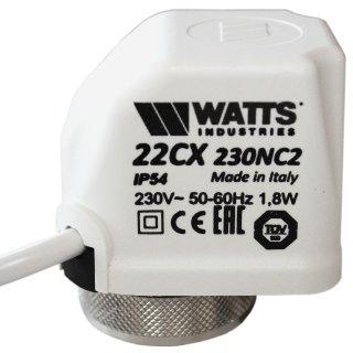 Stellantrieb 230 V stromlos geschlossen Watts M 30 x 1,5 Heimeier kompatibel