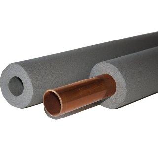 Rohrdämmung Kautschuk 28mm x 15mm 2m Stangen Rohrisolierung 50%ENEV Isolierung