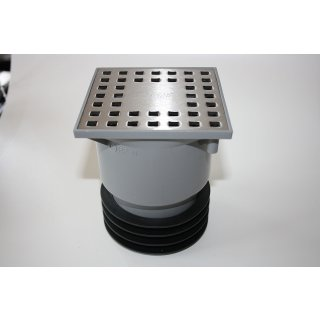Bodenablauf Profi AIRFIT, Höhenverstellbar und drehbar, für DN110 / DN90 / DN50