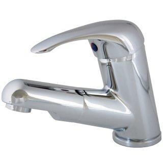 Einhebelmischer Waschtisch Armatur Wasserhahn mit herausziehbarer Handbrause