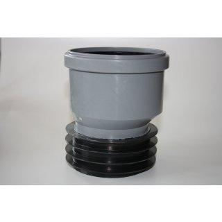 Universal Steckmuffe AIRFIT Plus  für InnenØ 99-105mm für HT-, SML- und Ton-Rohr