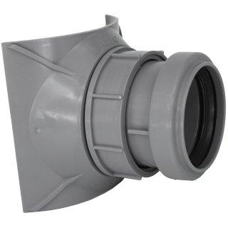 HT KG Abwasser Schraubabzweig AIRFIT DN 110 x 50 Abflussleitung