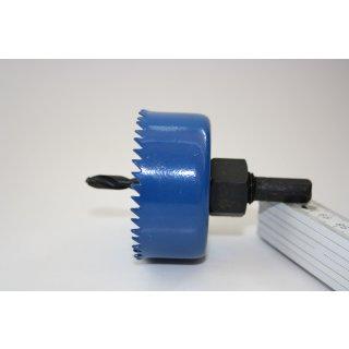 Kreisschneider AIRFIT zum Bohren Ø 57 mm in HT- und KG-Rohr für Schraub Abzweig