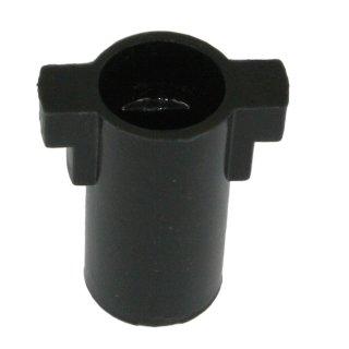 Kupplung 8 mm einflächig, Pumpenkupplung, Brennerkupplung