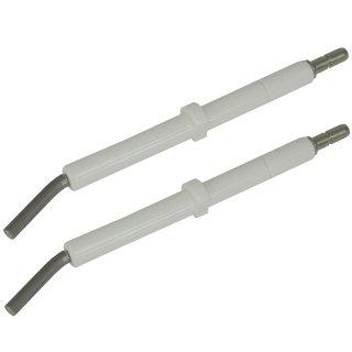 2 Zündelektroden für MAN RE 1.0 - 1.4 LN 1.19 - 22 H Zündelektrode 95.24236-0043
