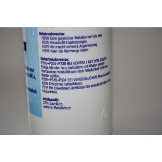 Ulith Urinsteinlöser Urinsteinentferner 500 ml 0,5 l WC Reiniger, Kalkentferner