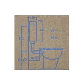 wisa aufputz sp lkasten 1070 in wei wc sp lkasten toilettensp lkaste 40 46. Black Bedroom Furniture Sets. Home Design Ideas