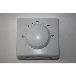 Raumthermostat ohne Schalter, Fußbodenheizung,  Aufputz Thermostat, analog