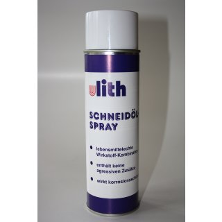 Bohr und Schneidöl Spray 400 ml ULITH lebensmittelecht Bohröl Kühlmittel