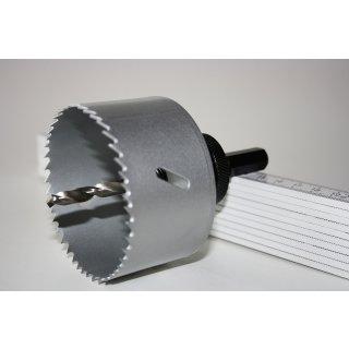 Kreisschneider Ø 76 mm für Rohranbaustopfen AIRFIT