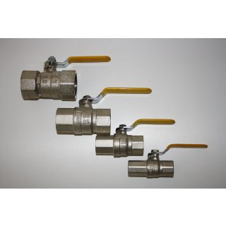 Gas Kugelhahn IG/IG DIN DVGW DN 15 20 25 32 Kugelhahn f. Gas Öl Wasser Heizöl