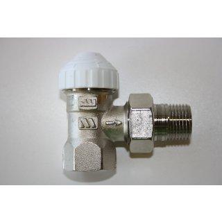 "Thermostatventil 1/2"" Zoll Eck Heimeier kompatibel M30x1,5 Ventil für Heizkörper"