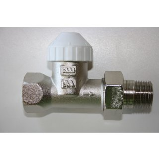 "Thermostatventil 1/2"" Zoll DG Heimeier kompatibel M30x1,5 Ventil für Heizkörper"
