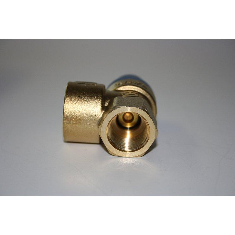 """Caleffi Membran Sicherheitsventil /Überdruckventil Wasser 3//4/"""" x 1/"""" 6 bar"""