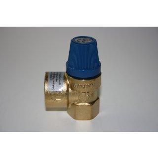 "Membran Sicherheitsventil Überdruckventil Wasser Boiler 1/2"" o. 3/4"" 6-8-10 bar"