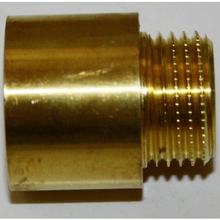 """Hahnverlängerung Messing 1/2"""" 20mm"""